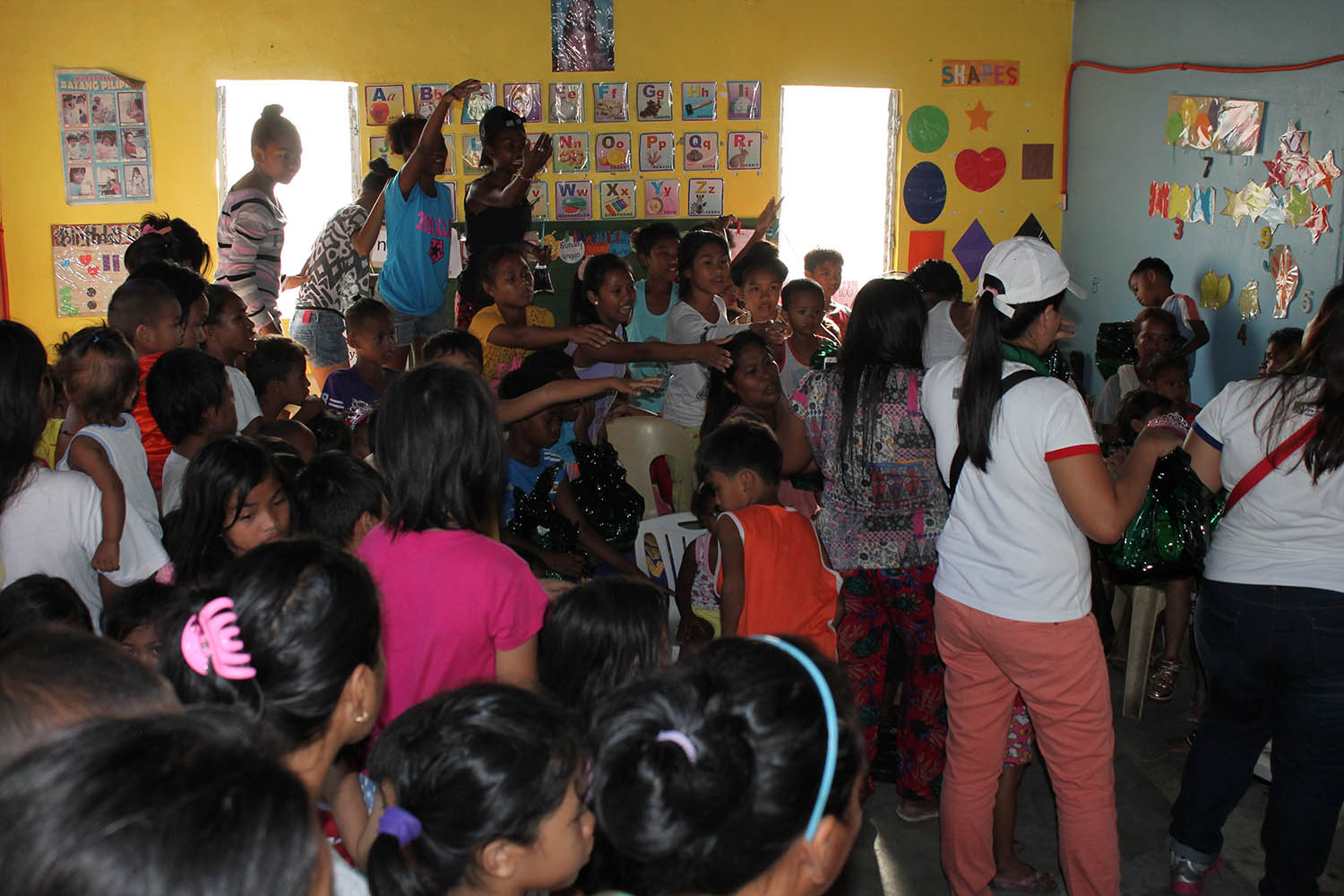 Annual Christmas Gift Giving to Gawad Kalinga