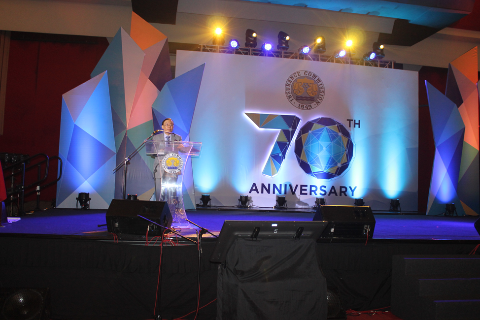INSURANCE COMMISSION'S 70TH ANNIVERSARY