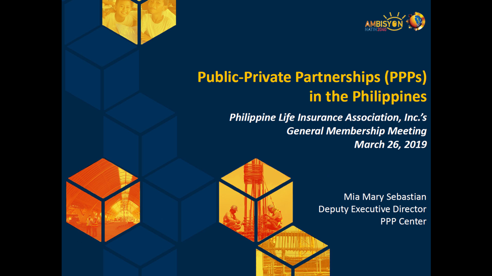 PLIA Holds Dialogue with the PPP Center on Infrastructure Financing