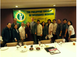 PLIA PRESIDENT INDUCTS PSIM OFFICERS