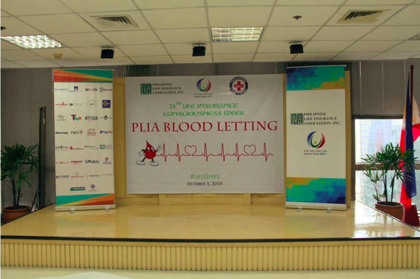 PLIA HOLDS ANNUAL BLOOD-LETTING